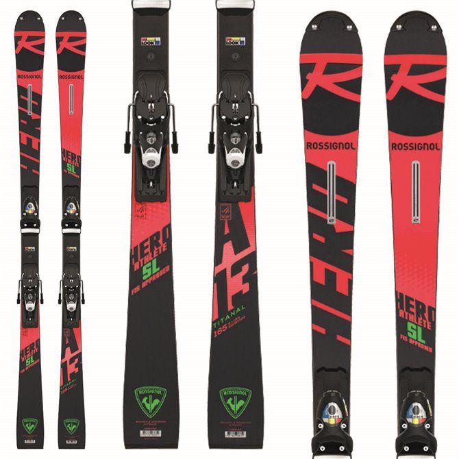 Esquí Rossignol Hero Athlete Fis SL J con fijaciones Spx 15
