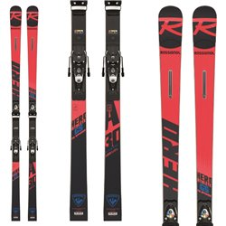 Ski Rossignol Hero Athlete Fis GS with bindings Spx 15 Rockerace