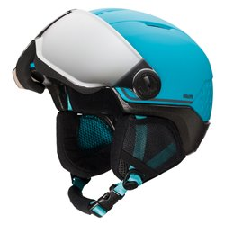 Casco sci Rossignol Whoopee Visor Impacts Blue-Black