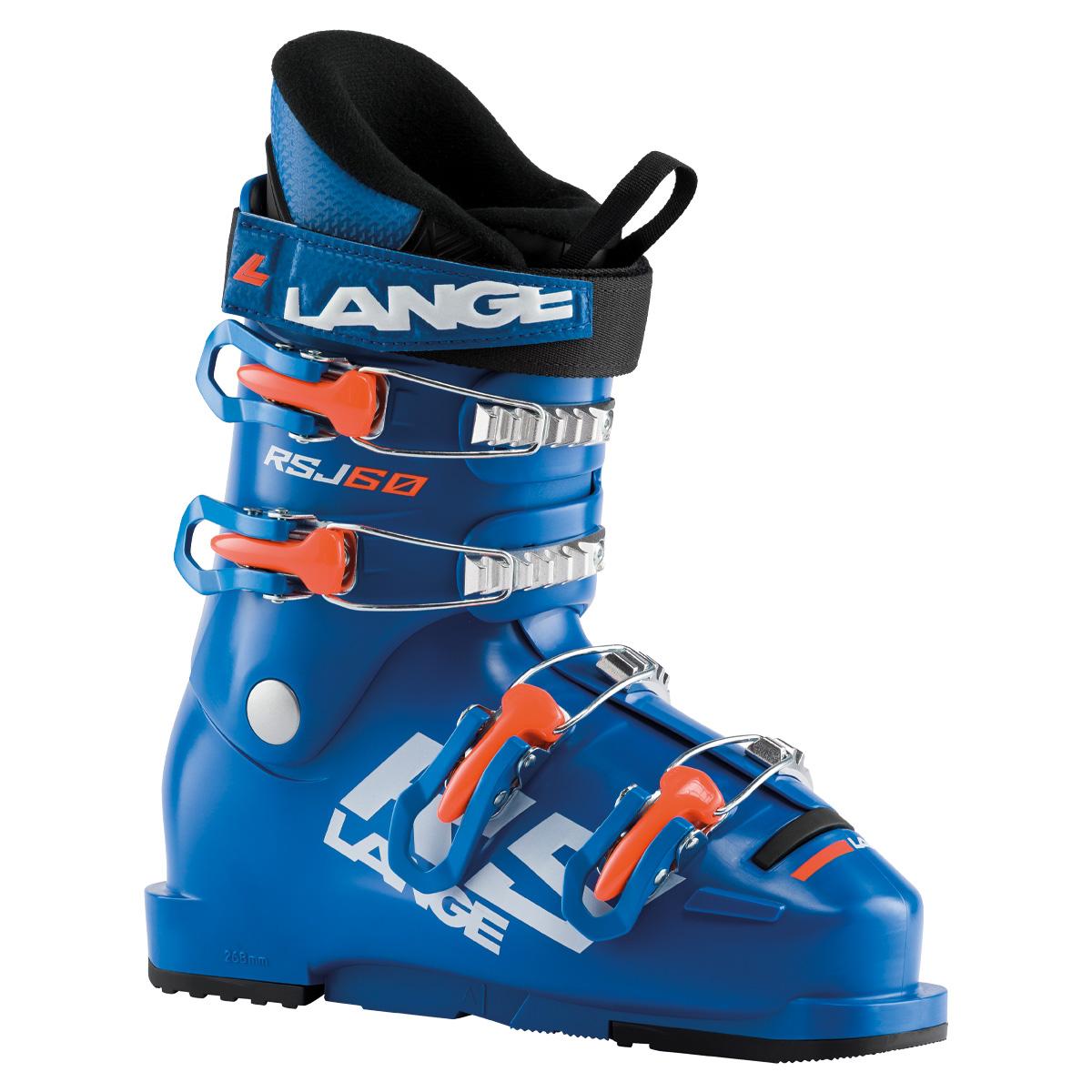 Scarponi Sci Lange RSJ 60 (Colore: Blu arancione, Taglia: 21.5)