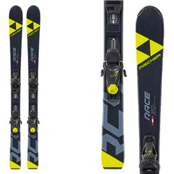 Ski Fischer RC4 Race Jr SLR with bindings FJ7 AC SLR