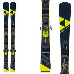 Esquí Fischer RC4 WC Jr Race Plate con fijaciones RC4 Z9 GW AC