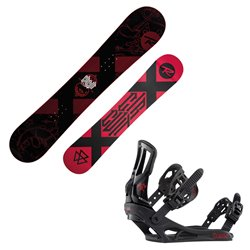 Snowboard Rossignol Circuit Wide avec fixations Battle