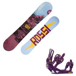 Snowboard Rossignol Myth with bindings Myth S/M
