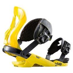 Attacchi snowboard Rossignol Cobra Yellow M/L