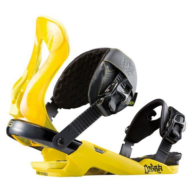 Fixations snowboard Rossignol Cobra Yellow M/L