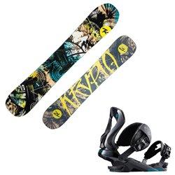 Snowboard Rossignol Krypto + attacchi Cobra