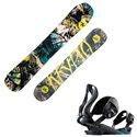 Snowboard Rossignol Krypto con fijaciones Cobra