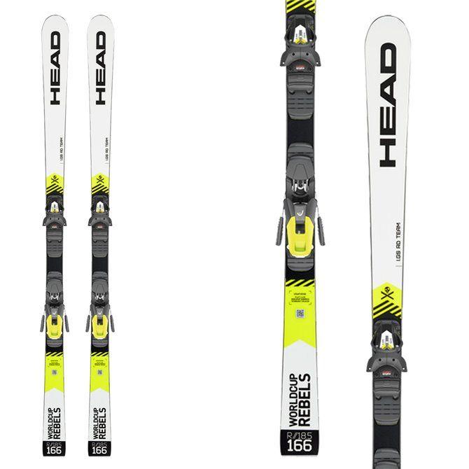 Ski Head WC Rebels iGS RD Team with bindings Freeflex Evo 11 Brake 85