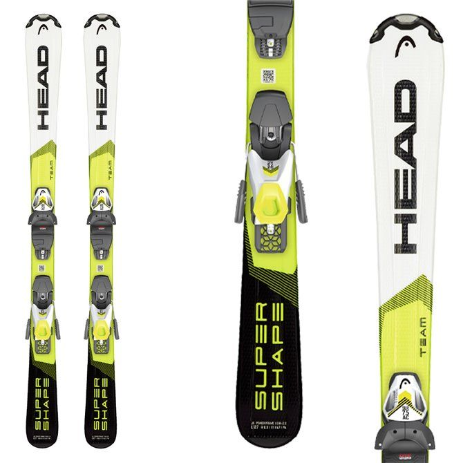 Ski Head Supershape Team with bindings Slr 4.5