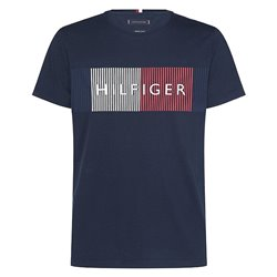 T-shirt Tommy Hilfiger Corp Merge Uomo