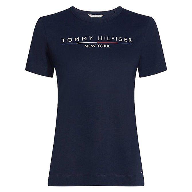 T-shirt Tommy Hilfiger Christa classic white