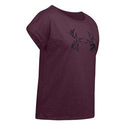 T-shirt Under Armour purple