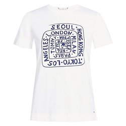 T-shirt Tommy Hilfiger Carla classic white