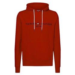 Felpa Tommy Hilfiger Logo haute red