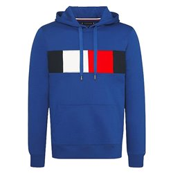 Felpa Tommy Hilfiger Flag Chest Uomo