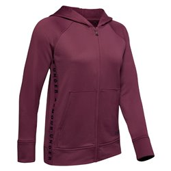 Felpa Under Armour Tech Terry full zip con cappuccio