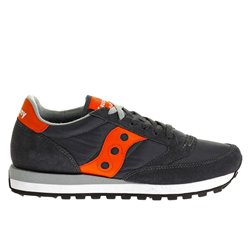 Sneakers Saucony Jazz original man charcoal- orange