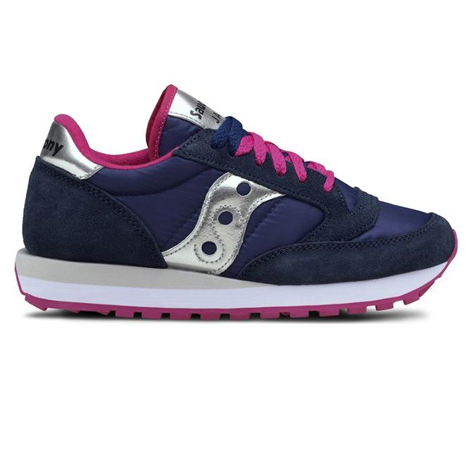 Sneakers Saucony Jazz original donna blue-pink-silver
