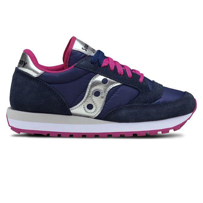 Sneakers Saucony Jazz original women blue-pink-silver