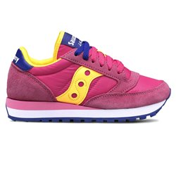 Sneakers Saucony Jazz original femme Pink - Yellow