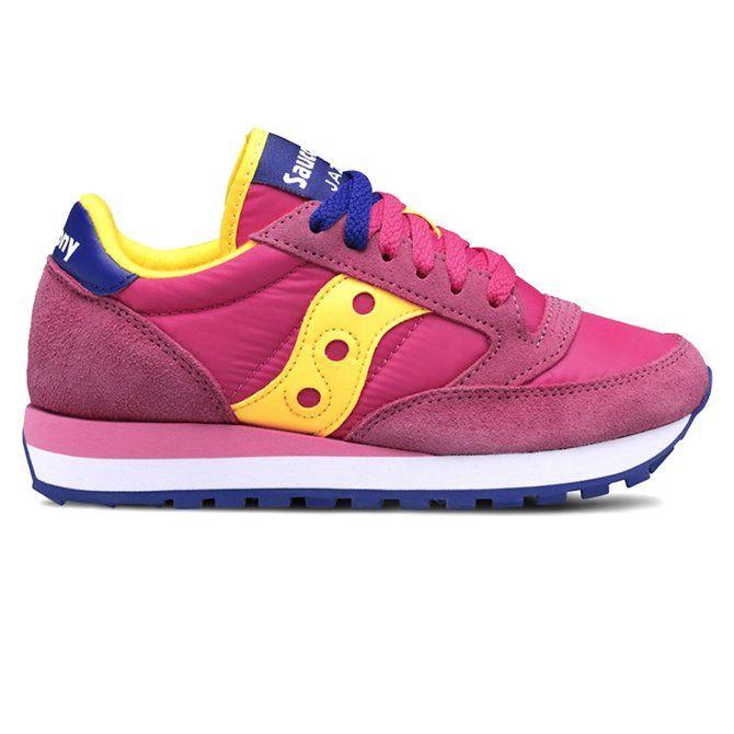 Sneakers Saucony Jazz original women Pink - Yellow
