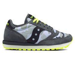Sneakers Saucony Jazz original uomo grey camo-yellow