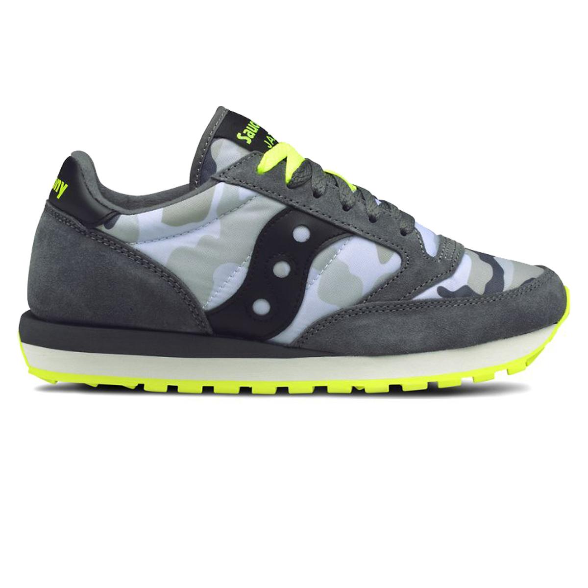 08e5b70a Saucony Jazz sneakers original man grey camo-yellow