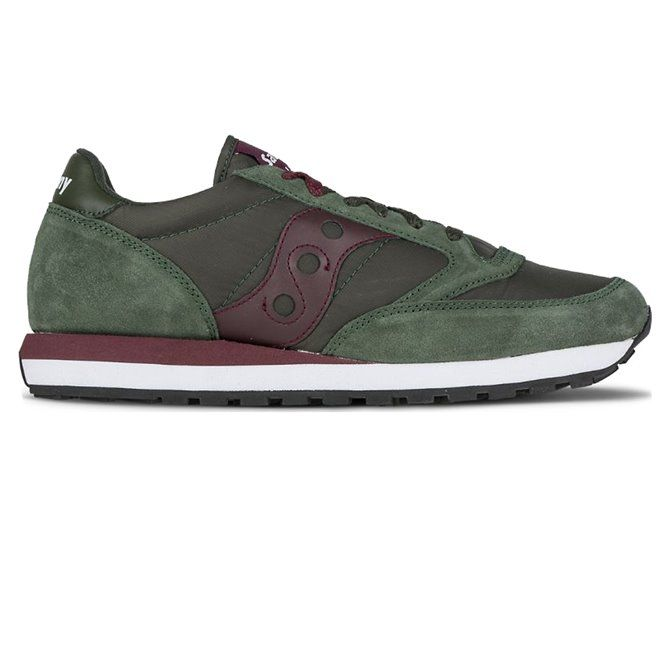 Sneakers Saucony Jazz original green-burgundy