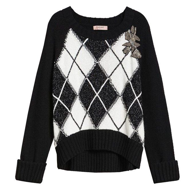 Pullover Boxy Twinset