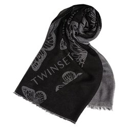 Twinset scarf in viscose blend