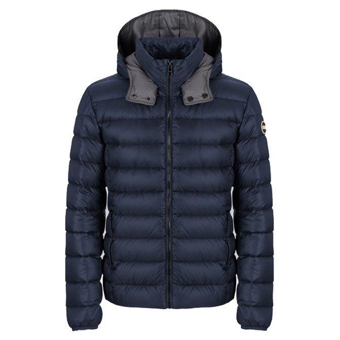 Colmar Originals Concrete Down Jacket Man with hood