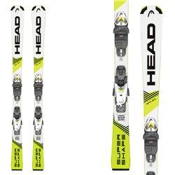 Ski Head Supershape SLR Pro avec fixations SLR 7.5 GW AC Brake 78