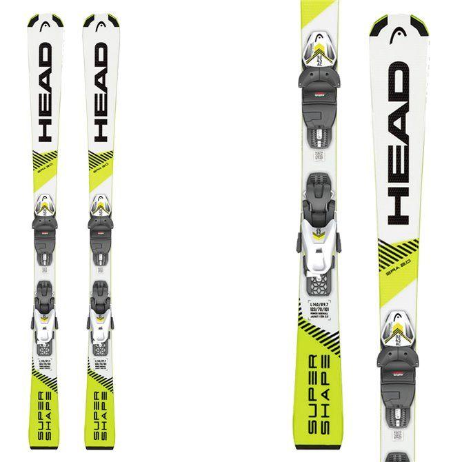 Ski Head Supershape SLR Pro with bindings SLR 7.5 GW AC Brake 78