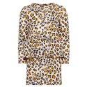 Llámalo vestido de leopardo de niña