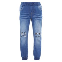 NMMBOB DNMAJAKE 2225 PANT Medium Blue Denim