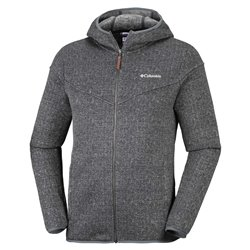Pile Columbia Boubioz Hooded Full Zip Fleece Black