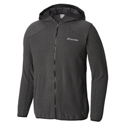 Pile Columbia Tough Hiker Hooded Fleece Black