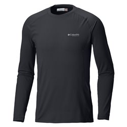 Knit Columbia Crew Black long sleeves Men