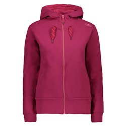 Cmp women's sweatshirt with hood and zip
