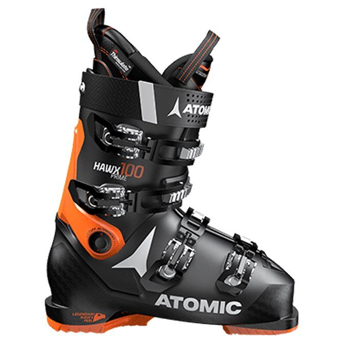 Scarponi sci Atomic Hawx Prime 100 nero-arancio