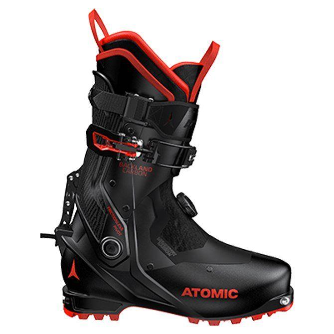 Scarponi alpinismo Atomic Backland Carbon black-red
