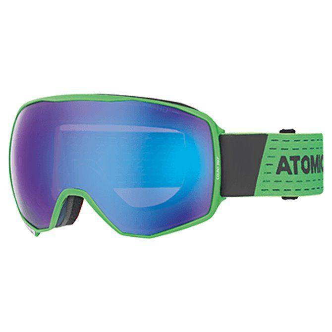 Maschera sci Atomic Count 360 HD green
