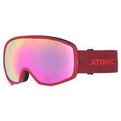 Maschera sci Atomic Count Hd rosso