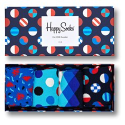 Happy Socks Navy box calcetines