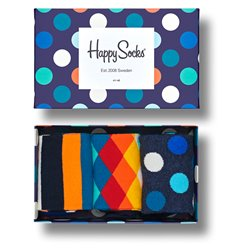 Happy Socks Classic mix box socks