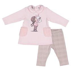 Complete bébé fille stretch Melby deux pièces