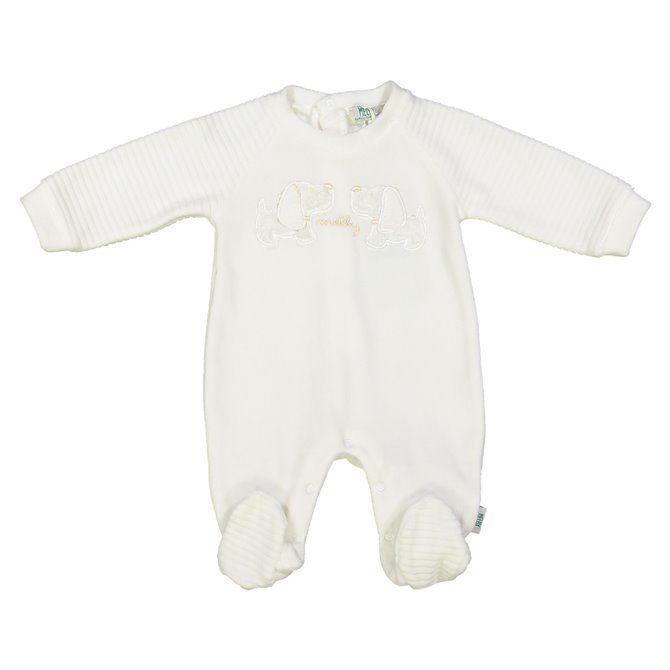 Mono corto de Melby largo para recién nacido unisex