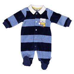 Tutina Melby con piede interlock neonato