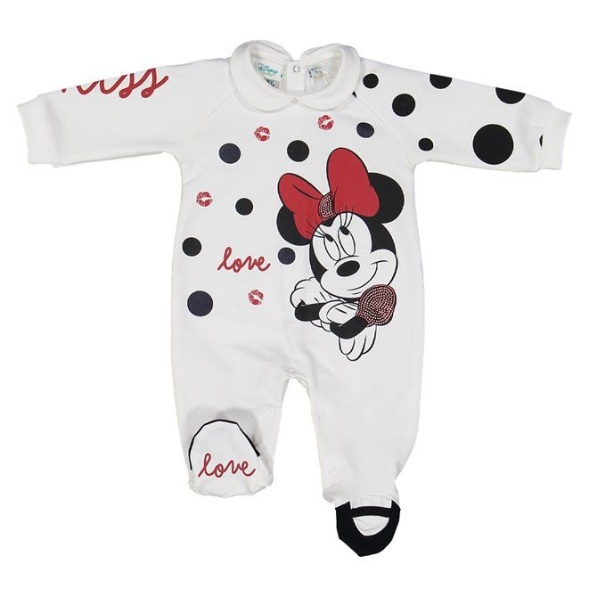 Melby playsuit with interlock foot Newborn